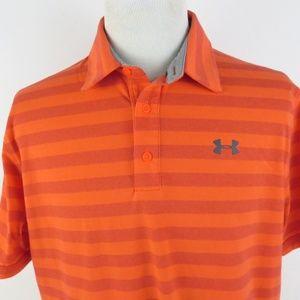 Under Armour Heat Gear Loose XL Golf Polo Shirt